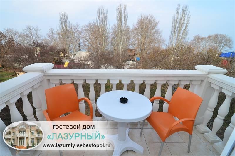Гостевые дома города Севастополя Гостевой дом Лазурный Учкуевка