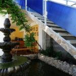 фонтан-и-беседка