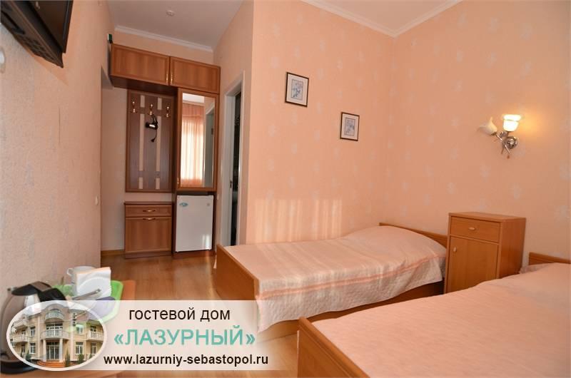 Гостевой дом Лазурный Учкуевка Севастополь отдых гостевые дома