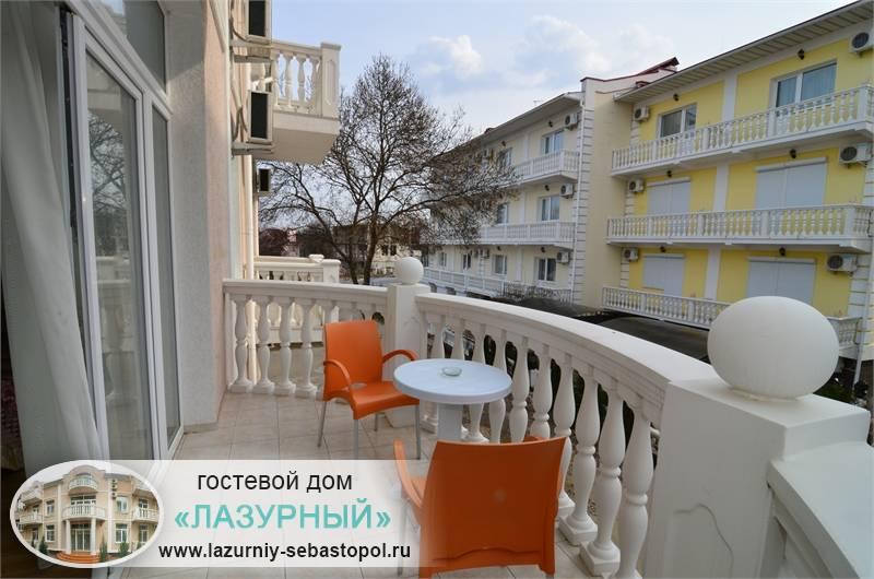 Гостевой дом Лазурный Учкуевка Частные гостевые дома Севастополь