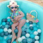 Купить сухой бассейн с шариками недорого