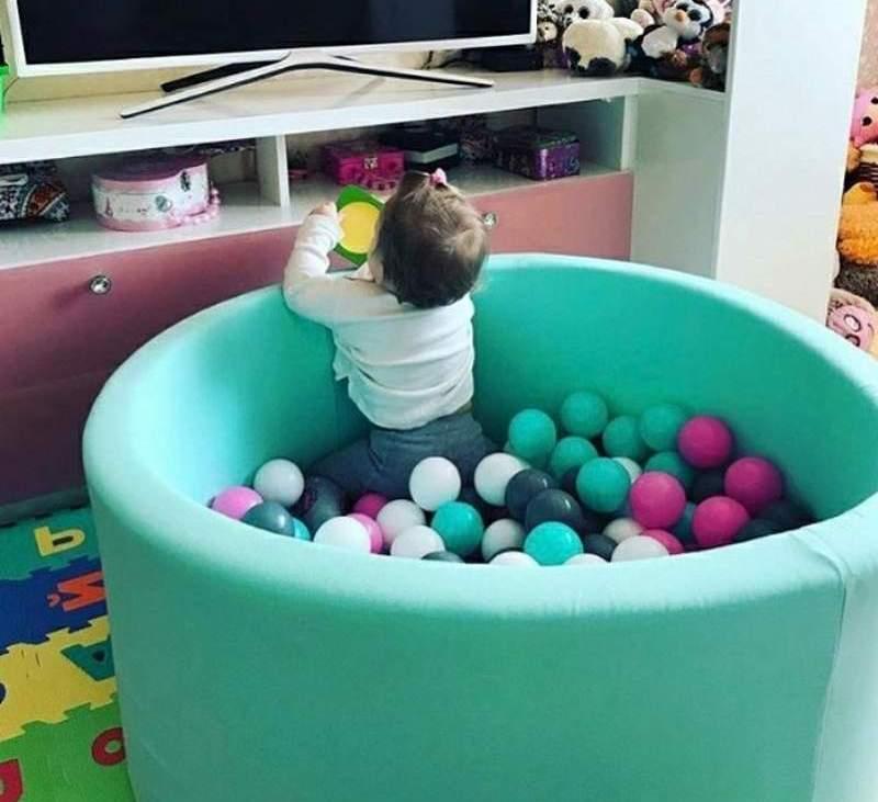 Детский сухой бассейн с шариками купить
